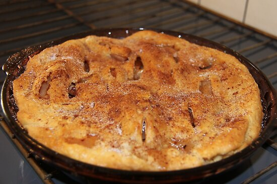 My First Home made Apple Pie~! by Brenda Dahl