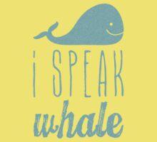 I Speak Whale II Kids Clothes