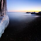 Icy Cove, Lake Superior by Michael Treloar