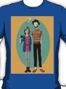 Hipster Valentine T-Shirt