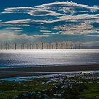 Redcar offshore windfarm by David Hall