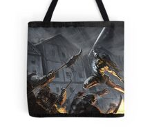 """Swords Storm"" Artwork by CHARRO Tote Bag"