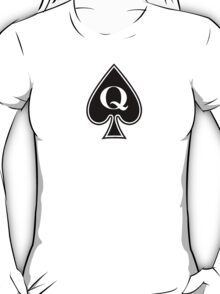 Queen of Spades Ladies Clothing T-Shirt