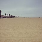 Sunday at Venice Beach: Sand and Solitude by Kasia-D