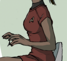 uhura Sticker