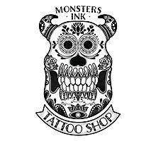 Monsters INK Sully Photographic Print