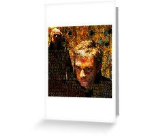 A certain lifestyle - BBC Sherlock Greeting Card