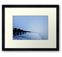 Quill undecided Framed Print