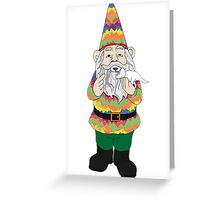Mr Gnome and Dino Jr. Greeting Card