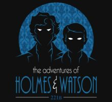 The Adventures of Holmes and Watson by RyanAstle
