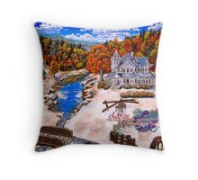 october 23 1968  autumn delight Throw Pillow