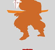 Juggernaut the minimalist  by DaveBot