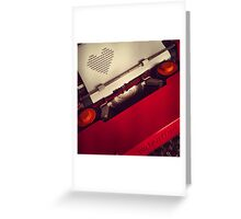 Send a LOVE letter...Retro style Greeting Card