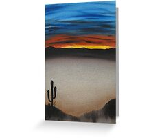 Thriving In The Desert Greeting Card