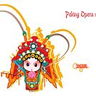 Peking Opera daomadan by skycn520