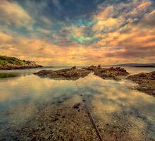 Sheltered Bay by Adrian Evans