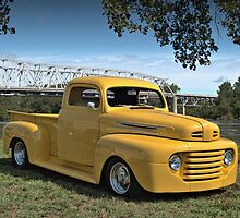 1950 Ford F1 Pickup Truck by TeeMack