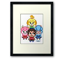 See You at the Crossing Framed Print
