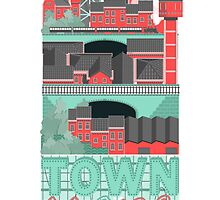 Townscape by Tanguy Leysen