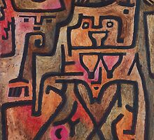 Paul Klee - Forest Witches by TilenHrovatic