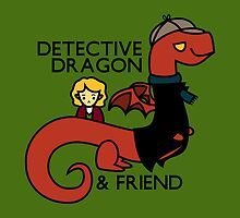 detective dragon & friend - sherlock hobbit parody by hellohappy