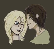 Ymir and Historia by Thanatos707
