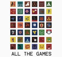 All The Games by CBstudios