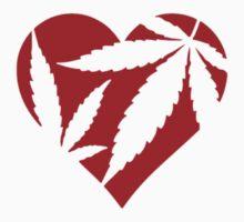 Marijuana Heart by badgyal