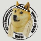 Such Workout Much Burn - Doge Workout T Shirt by cerenimo
