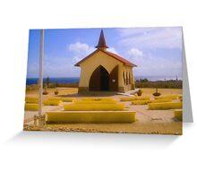 Aruba Chapel Greeting Card