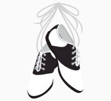Saddle Shoes-White by 0katypotaty0