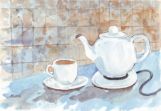 Tea for Two! by Maree  Clarkson