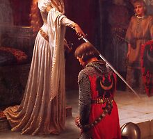 Accolade by Edmund Blair Leighton by TilenHrovatic