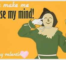 Scarecrow - Wizard of Oz Valentine by Jesse Armine