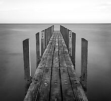 Quindalup jetty by BeninFreo