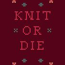 Knit or Die by Simon Alenius