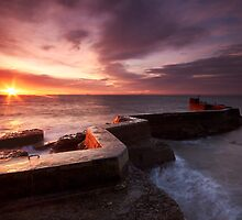St Monans Sunrise by Jeanie