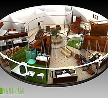 3d floor plan design by 3drendering