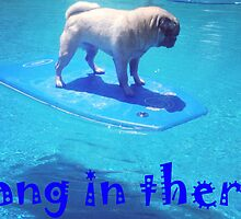 SURFING PUG by greatbritton99