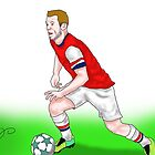 Arsenal sketch by TDCartoonArt