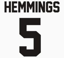 Luke Hemmings - 5SOS - Jersey Tee (available in t-shirts and hoodies) by jezzhands