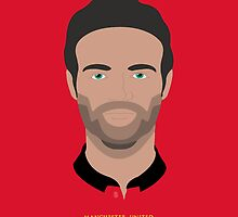 Juan Mata United Vector Art by Aaron Pacey