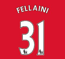 Marouane Fellaini United Style Shirt by Aaron Pacey