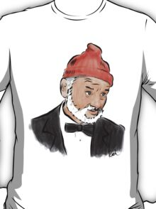 Steve Zissou (Bill Murray) T-Shirt