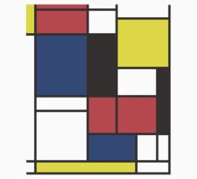 de stijl inspired design by agarciadezign