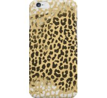 Golden Leopard iPhone Case/Skin