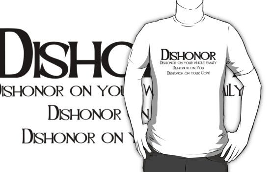Dishonor by oceandrawn