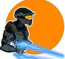 Master Chief by Ganem