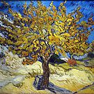 Van Gogh's Famous oil painting, The Mulberry Tree. by naturematters