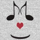FUN T-SHIRT FOR MUSIC LOVERS .. ON VALENTINE'S DAY  by Colleen2012